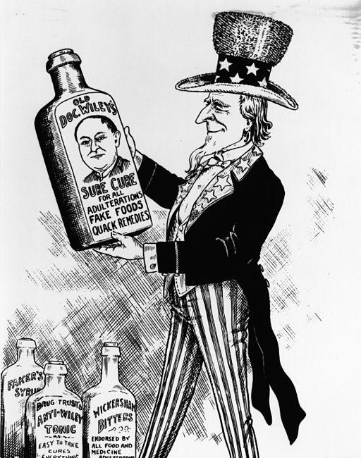 FDA_History_-_Sure_Cure_Cartoon